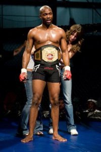 Antwane Williams Arlington MMA's Tamma 185 Light Heavyweight Champion