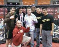 Arlington Fight Team with UFC Lightweight Champion Sean Sherk