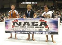 Timberland Shanks Arlington MMA Junior Fight Team Taking First Place at Naga